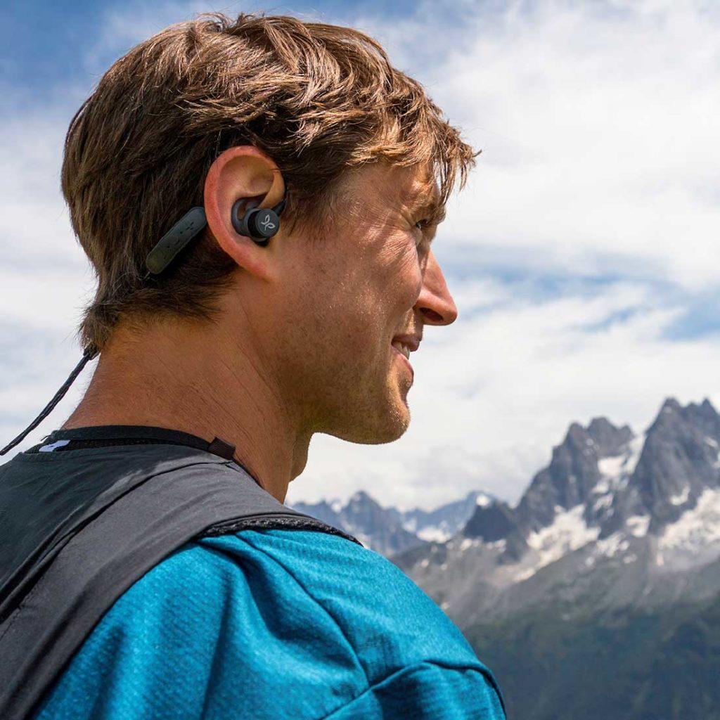 Écouteurs Jaybird Tarah Pro en mode contours d'oreille